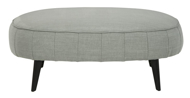 Picture of Hollyann Gray Accent Ottoman