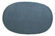 Picture of Hollyann Blue Accent Ottoman