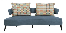 Picture of Hollyann Blue Sofa