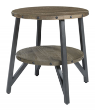 Picture of Haffenburg Round End Table