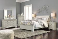 Picture of Jorstad 6-Piece Queen Sleigh Bedroom Set