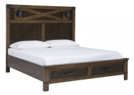 Picture of Wyattfield King Storage Bed