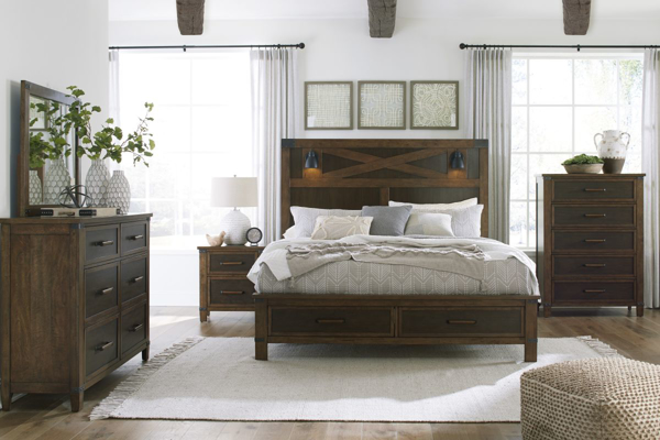 Picture of Wyattfield 6-Piece Queen Storage Bedroom Set