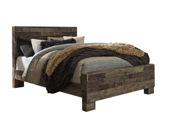 Picture of Derekson Panel Bed