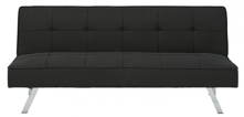 Picture of Santini Black Flip Flop Sofa