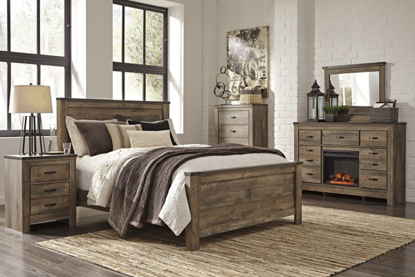 Picture of Trinell 6 Piece Panel Bedroom Set
