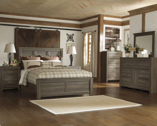 Picture of Juararo 6 Piece Panel Bedroom Set