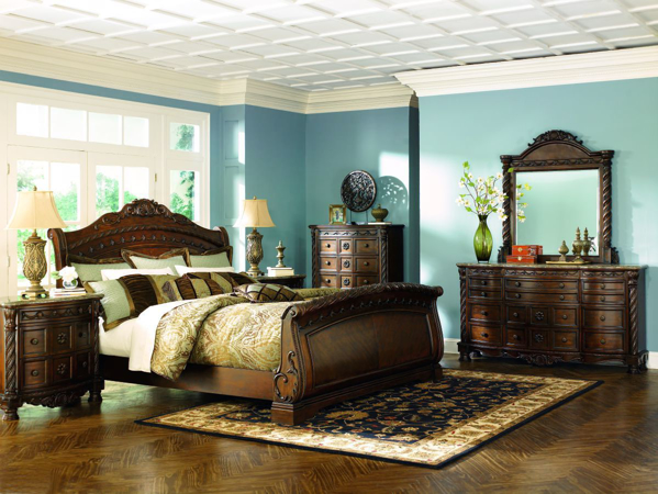 Picture of North Shore 6 Piece Sleigh Bedroom Set