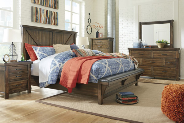 Picture of Lakeleigh 6 Piece Upholstered Bedroom Set
