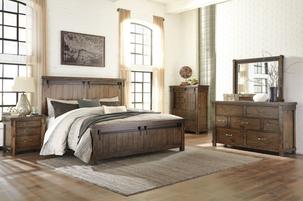 Picture of Lakeleigh 6 Piece Panel Bedroom Set