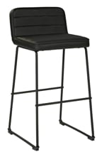 "Picture of Nerison Black 30"" Upholstered Barstool"