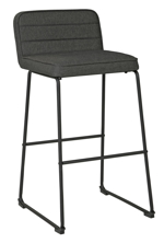 "Picture of Nerison Gray 30"" Upholstered Barstool"