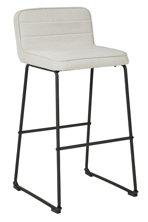"Picture of Nerison Beige 30"" Upholstered Barstool"