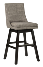 "Picture of Tallenger Light Gray 30"" Uph Swivel Barstool"