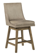 "Picture of Tallenger Beige 24"" Uph Swivel Barstool"