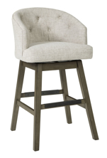 "Picture of Tripton Linen 30"" Uph Swivel Barstool"