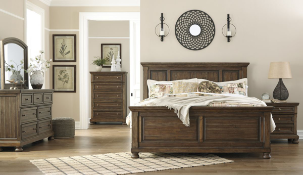 Picture of Flynnter 6-Piece Panel Bedroom Set