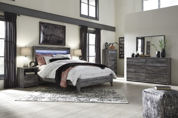 Picture of Baystorm 6-Piece Panel Bedroom Set
