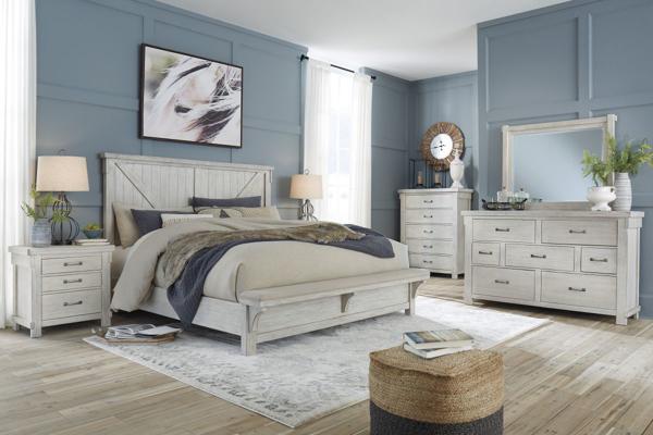 Picture of Brashland 6-Piece Upholstered Bedroom Set