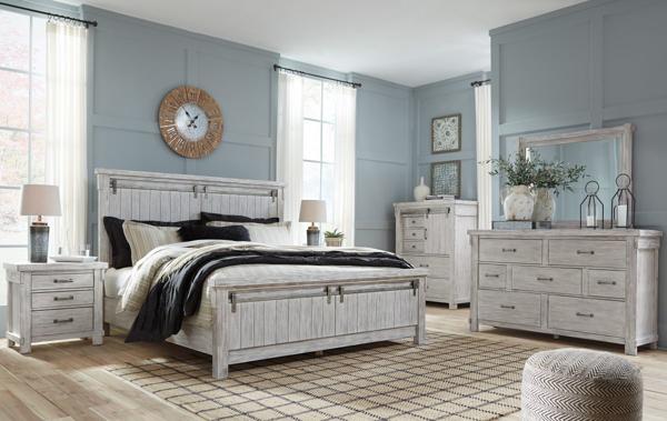 Picture of Brashland 6-Piece Panel Bedroom Set