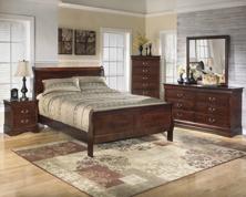 Picture of Alisdair 6 Piece Sleigh Bedroom Set