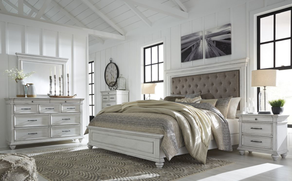 Picture of Kanwyn 6 Piece Upholstered Bedroom Set