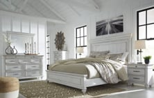 Picture of Kanwyn 6 Piece Panel Bedroom Set