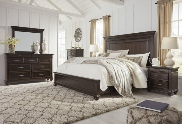 Picture of Brynhurst 6 Piece Panel Bedroom Set