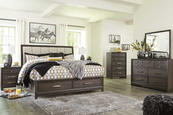 Picture of Brueban 6 Piece Storage Bedroom Set