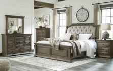 Picture of Wyndahl 6 Piece Upholstered Bedroom Set