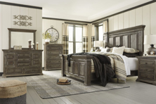 Picture of Wyndahl 6 Piece Panel Bedroom Set