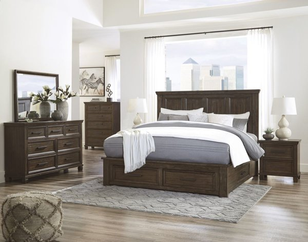 Picture of Johurst 6 Piece Storage Bedroom Set