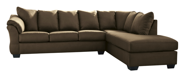 Picture of Darcy Cafe 2-Piece Right Arm Facing Sectional