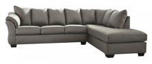 Picture of Darcy Cobblestone 2PC Right Arm Facing Sectional