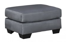 Picture of Darcy Steel Ottoman