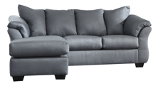Picture of Darcy Steel Sofa Chaise
