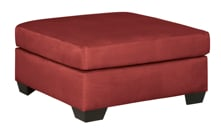 Picture of Darcy Salsa Oversized Accent Ottoman
