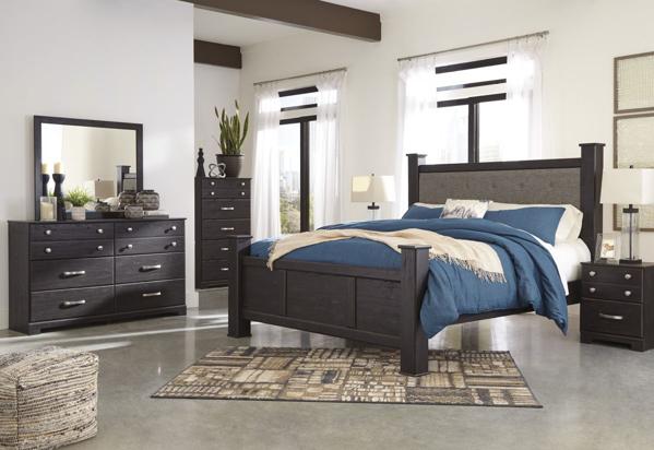 Picture of Reylow 6-Piece Poster Bedroom Set