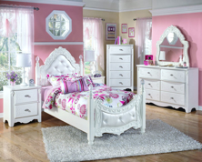 Picture of Exquisite 6-Piece Youth Poster Bedroom Set