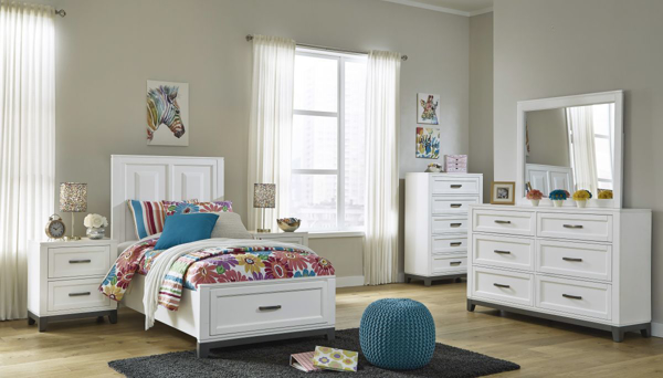 Picture of Brynburg 6-Piece Youth Storage Bedroom Set