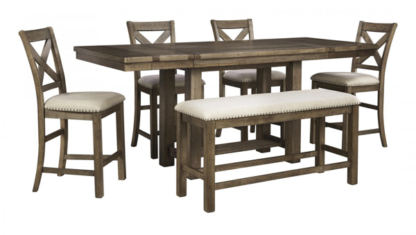 Picture of Moriville 6-Piece Counter Dining Set