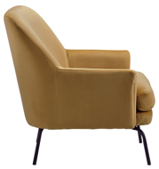 Picture of Dericka Gold Accent Chair