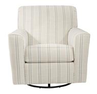 Picture of Alandari Gray Swivel Glider Accent Chair