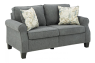 Picture of Alessio Charcoal Loveseat
