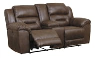 Picture of Stoneland Chocolate Power Reclining Loveseat