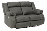 Picture of Denoron Gray Power Reclining Loveseat
