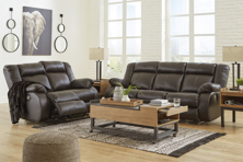 Picture of Denoron Chocolate 2-Piece Power Living Room Set