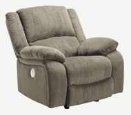 Picture of Draycoll Pewter Power Recliner