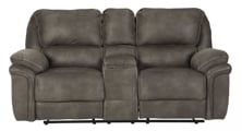 Picture of Trementon Power Reclining Loveseat with Console
