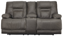 Picture of Wurstrow Smoke Power Loveseat